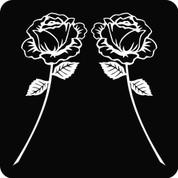 Rose-01 (Set) - Car Decal
