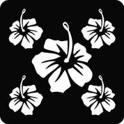 Hawaiian-04 (Set) - Car Decal