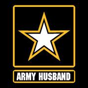 Army Husband - Car Decal