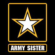 Army Sister - Car Decal