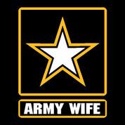 Army Wife - Car Decal