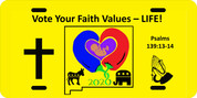 Vote Your Faith - PLATE
