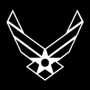 Airforce (Car Decal)