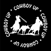 Team Ropers - 02 - Car Decal