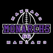 Manzano - Football-12 Car Decal 2clr