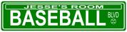 STREET SIGN - Baseball