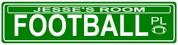 STREET SIGN - Football