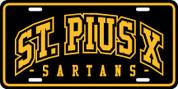 St Pius Sartans (Spirit-01) PLATE