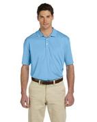 M315 Men's Double Mesh Dri-Fit Sport Shirt - Lt. Blue