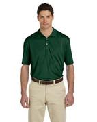 M315 Men's Double Mesh Dri-Fit Sport Shirt - Dark Green