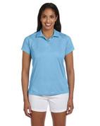 M315W Ladies' Double Mesh Dri-Fit Sport Shirt - Lt. Blue