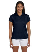 M315W Ladies' Double Mesh Dri-Fit Sport Shirt - Navy