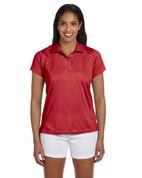 M315W Ladies' Double Mesh Dri-Fit Sport Shirt - Red