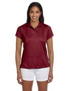 M315W Ladies' Double Mesh Dri-Fit Sport Shirt - Maroon