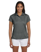 M315W Ladies' Double Mesh Dri-Fit Sport Shirt - Charcoal