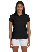 M315W Ladies' Double Mesh Dri-Fit Sport Shirt - Black