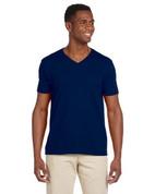 G64V Softstyle® 4.5 oz. V-Neck T-Shirt - Navy