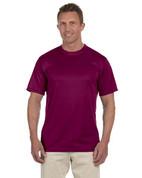 790 100% Polyester Dri-Fit Short-Sleeve T-Shirt - Maroon