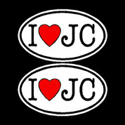 I Love Jesus Christ (Car Decal)