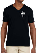 Soldier of God - 2 Timothy 2:3 (V-NECK)