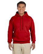 Heavy Blend™ 8 oz., 50/50 Hood - Red