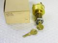 Ignition Starter Switch - Brass - NEW  NOS