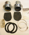 12648A2  Exhaust Flange Kit, Exhaust Tips, Pair  NEW  NOS