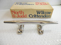 "Wilcox Vintage Open Base 8"" Cleat  NEW"