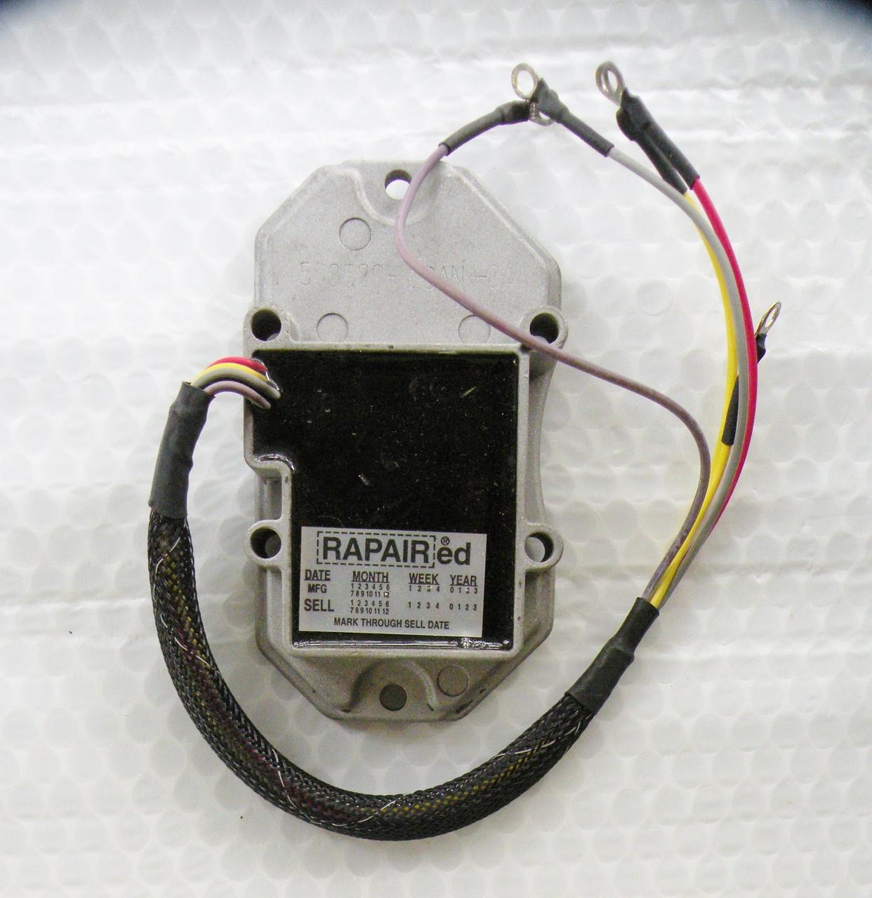omc wiring regulator wiring diagram online Polaris Wiring 584204 omc voltage regulator rapair rebuilt outboard paradise electrical panel wiring omc wiring regulator