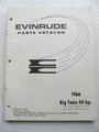 Evinrude Big Twin 40HP PArts Catalog ©1966