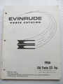 Evinrude Ski Twin 33HP Parts Catalog ©1966