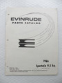 Evinrude Sportwin 9.5HP Parts Catalog ©1966