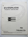 Evinrude Fisherman 6HP Parts Catalog ©1966