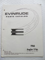 Evinrude Angler 5HP Parts Catalog ©1966