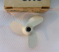 315858 OMC Propeller, 3 Blade, 3HP 4HP  NEW  NOS