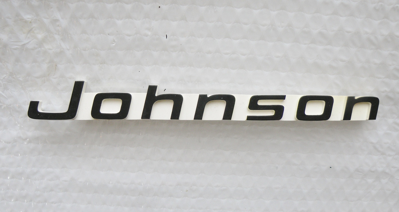 314771 Johnson Cowl Emblem Applique Outboard Paradise