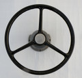 Vintage Rope Steering Helm & Wheel