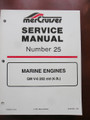 90-861328 MERCURY MERCRUISER SERVICE MANUAL #25 - GM V6 - 262CI - 1997 - NEW