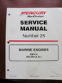 90-861328 1 MERCURY MERCRUISER SERVICE MANUAL #25 GM V6, 262CI, 4.3L 1999 - NEW