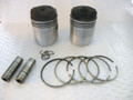 708-447 Pistons, KG4 , Early Long Style, STD, Used, Set of 2