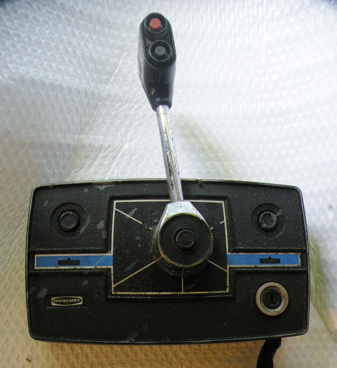 Mercury Outboard Side Mount Control Box, Power Trim, 80's Style
