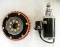 Flywheel & Starter, Custom Aluminum Racing, Electric Start
