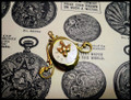 Time Flies Steampunk Locket