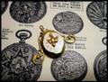 Time Flies Steampunk Locket