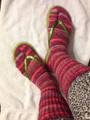 Flip Flop Sock Pattern