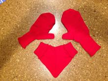 Free smitten mitten pattern just in time for Valentine's Day.