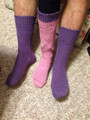 Socks with Heart free pattern.