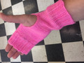 Fingerless Gloves with Thumb Hole