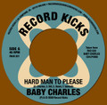 BABY CHARLES-Hard man to please/Jackson fingers-SINGLE