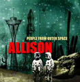 ALLISON-People From Outer Space-Greek Neo-psychedelic female vocals-LP